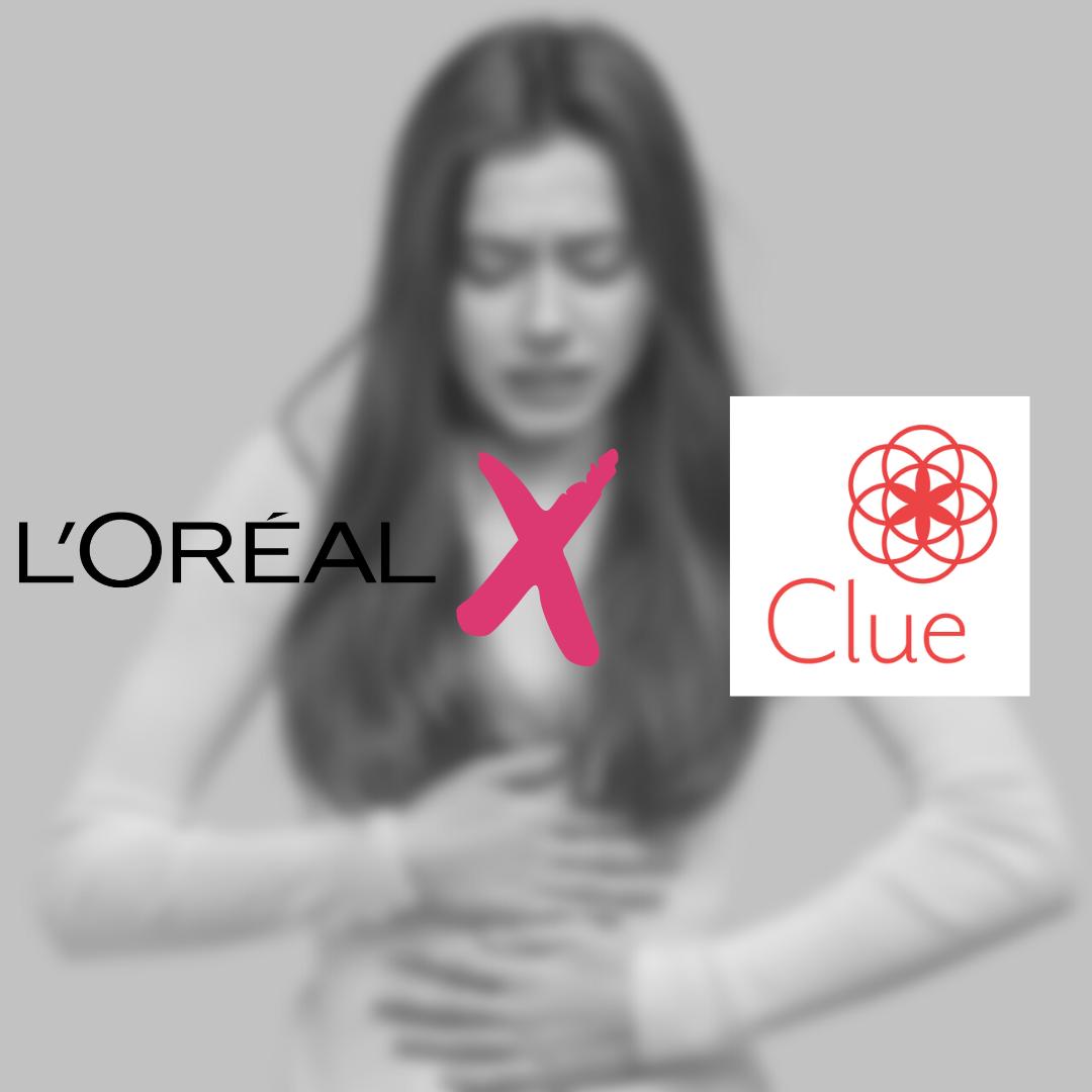 L'Oréal x Clue