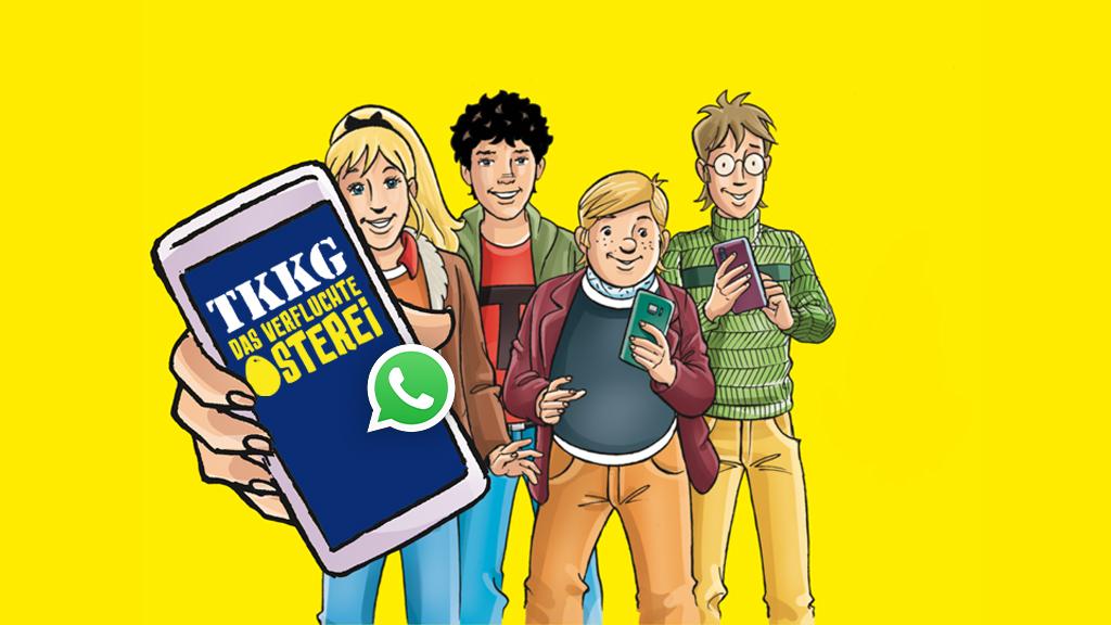TKKG x Amazon x Whatsapp