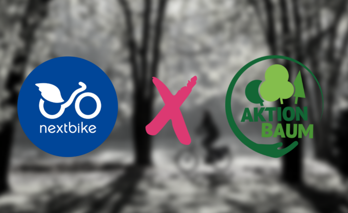 nextbike x Aktion Baum